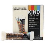 Kind Fruit and Nut Bars, Dark Chocolate Almond & Coconut, 12 Bars (KND19987)