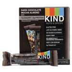 Kind Nuts and Spices, Dark Chocolate Mocha Almond 1.4 oz Bar, 12/Box (KND18554)