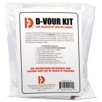Big D D'vour Clean-up Kit, Powder, All Inclusive Kit, 6 Kits (BGD169)