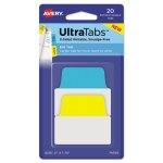 avery-repositionable-tabs-2-x-175-assorted-primary-colors-20-tabs-ave74765
