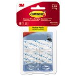 command-clear-hooks-strips-18-mini-hooks-24-adhesive-strips-mmm17006clr18es