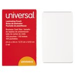 universal-clear-laminating-pouches-business-card-size-100-pouches-unv84642