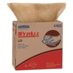 Wypall L20 General Purpose 2-Ply Wipers, Brown, 10 Boxes (KCC47033)