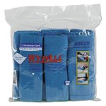 Wypall Microfiber Cleaning Cloths, 15.75 x 15.75, Blue, 24 Cloths (KCC83620CT)