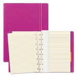 Filofax Notebook, Pink Cover, 8 1/4 x 5 13/16, 112 Sheets, Each (REDB115011U)