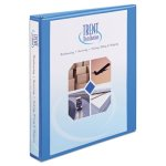 "Avery 1"" Heavy-Duty EZ-Turn Ring View Binder, Light Blue (AVE05301)"
