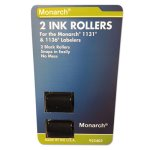 Monarch 925403 Replacement Ink Rollers, Black, 2/Pack (MNK925403)