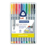 triplus-fineliner-marker-super-fine-water-based-10-color-set-std334sb10a6