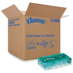 Kleenex 21400 Facial Tissues, 2-PLY, White, 100 Tissues (KCC21400BX)
