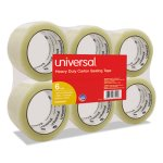 Clear Box Sealing Tape, 55 Yards - 6 rolls per pack (UVS 63000)