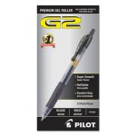 Pilot G2 Gel Ink Pen, Retractable, Black Ink, 1.0mm Bold, Dozen (PIL31256)