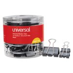 universal-medium-small-assorted-binder-clips-black-60-clips-unv11160