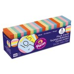 Pacon Blank Flash Card Dispenser Boxes, 2w x 3h, Assorted, 1000/Pack (PAC74170)
