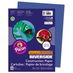 pacon-construction-paper-76-lbs-9-x-12-dark-blue-50-sheets-pac103601