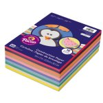 Pacon Value Construction Paper, 45 lb, 9 x 12, Assorted, 500 Sheets (PAC6555)