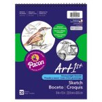 pacon-sketch-book-unruled-80lb-9-x-12-white-30-sheets-pad-pac103207