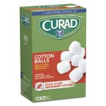 "Curad Sterile Cotton Balls, 1"", 130/Box (MIICUR110163)"
