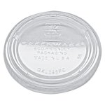 Fabri-kal Portion Cup Lids, Fits 3.25-5.5oz Cups, Clear, 2500 Lids (FABXL345PC)