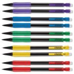 Universal Mechanical Pencil, 0.7 mm, Assorted Barrel, 10/Pk (UNV22003)