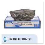 stoudt-100-recycled-bags-33gal-15mil-33x40-brown-black-100-ct-stot3340b15