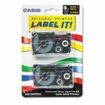 casio-tape-cassettes-for-kl-label-makers-9mm-x-26ft-gold-on-black-2pack-csoxr9bkg2s