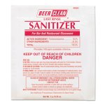 Beer Clean Last Rinse Glass Sanitizer Powder, 100 Packets (DVO90223)