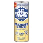 Bar Keepers Friend Powdered Cleanser & Polish, 21-oz, 12 Cans (BKF11514CT)