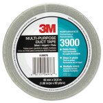 "3M Poly-Coated Cloth Duct Tape, 1.88"" x 60 Yards, Silver (MMM3900)"