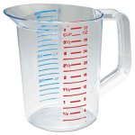 Rubbermaid Bouncer Measuring Cup, 32-oz., Clear, 1 Each (RCP3216CLE)