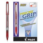 Pilot Precise Grip Roller Ball Stick Pen, Red Ink, Extra Fine (PIL28803)