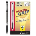 pilot-precise-grip-roller-ball-stick-pen-black-ink-bold-dozen-pil28901