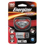 Energizer LED Headlight, 3 AAA Batteries, Red, 1 Each (EVEHDB32E)