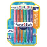 paper-mate-clearpoint-color-mechanical-pencils-assorted-school-grade-6pack-pap1984678