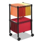 safco-2-tier-compact-mobile-wire-file-cart-steel-black-saf5221bl