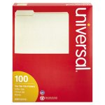 universal-manila-file-folders-1-3-cut-assorted-top-tab-100-folders-unv12113