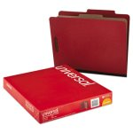 pressboard-classification-folder-letter-four-section-red-10-box-unv10250