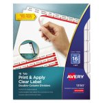 Avery Index Maker Double Column Dividers, White, 16-Tab, Letter (AVE13150)