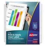 avery-index-maker-clear-label-pocket-dividers-5-dividers-ave75500