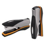 swingline-optima-desk-stapler-40-sheet-capacity-silver-orange-black-swi87845