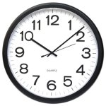 universal-round-battery-wall-clock-black-12-each-unv11641