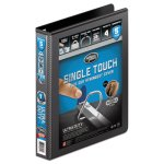 "Wilson Jones Lock No-Gap Vinyl View D-Ring Binder, 1"" Capacity, Black (WLJ86611)"