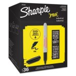 Sharpie Industrial Permanent Markers - Office Pack, Black (SAN2003898)
