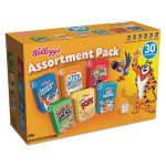 Kellogg's Breakfast Cereal Mini Boxes, Assorted, 30 Boxes (KEB14746)