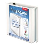 "Cardinal FreeStand Slant-D Rings Binder, 2"" Capacity, White (CRD43120)"
