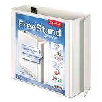"Cardinal EasyOpen Binder w/Locking Rings, 4"" Capacity, White (CRD43140CB)"