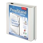 "Cardinal FreeStand Slant-D Rings Binder, 1-1/2"" Capacity, White (CRD43110)"