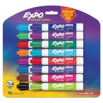 Expo 1927526 Low Odor Dry Erase Markers, Vibrant Colors, 16 Markers (SAN1927526)