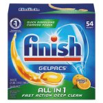 Finish Dishwasher Detergent Gelpacs, Orange Scent, 4 Boxes (RAC81181CT)
