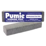 Pumie Scouring Sticks, Porcelain and Tile Cleaner, Gray, 12 Sticks (PUM 12)