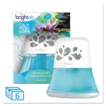 Bright Air Oil Air Freshener, Calm Waters & Spa, 6 Fresheners (BRI900115CT)